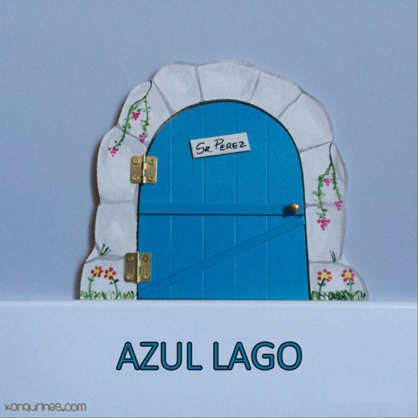 Puerta Ratoncito Pérez. Azul lago