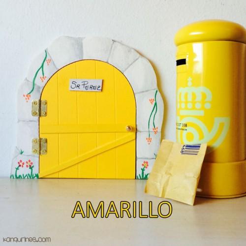 Puerta Ratoncito Pérez. Amarillo