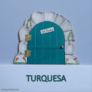 Puerta Ratoncito Pérez. Turquesa