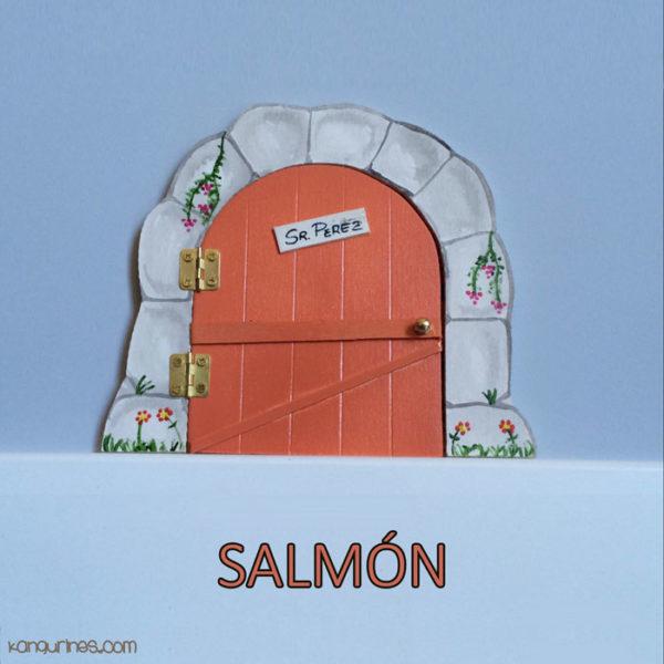 Puerta Ratoncito Pérez. Salmón