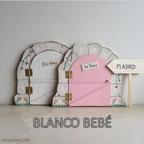Puerta Ratoncito Pérez. Blanco bebé