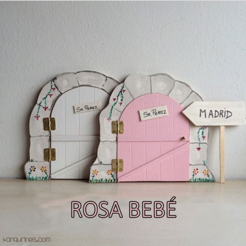 Puerta Ratoncito Pérez. Rosa bebé