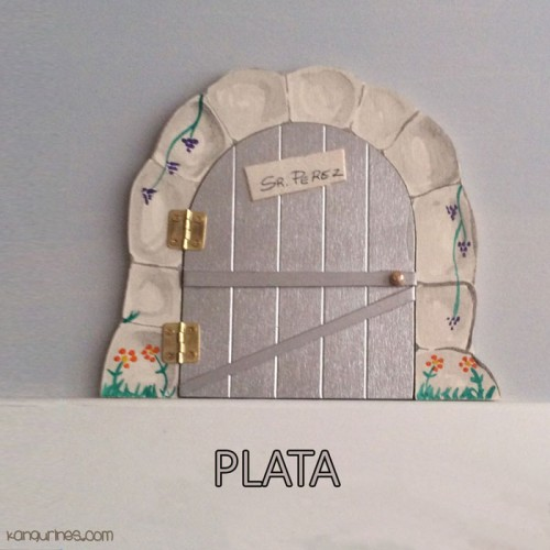 Puerta Ratoncito Pérez. Plata