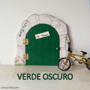 Puerta Ratoncito Pérez. Verde oscuro