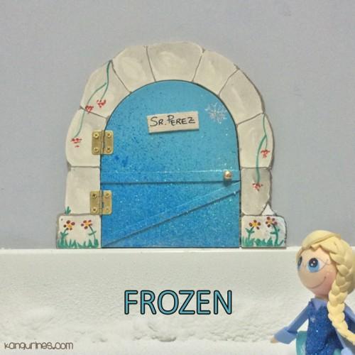 Puerta Ratoncito Pérez. Frozen