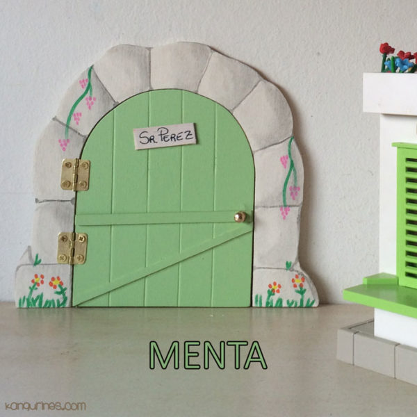 Puerta Ratoncito Pérez. Menta