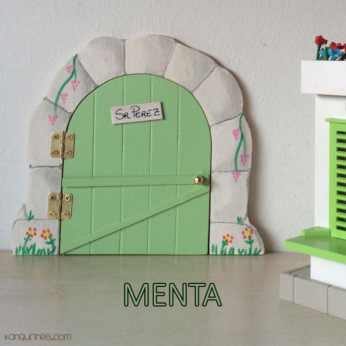 Puerta ratoncito p rez menta kangurines for Puerta raton perez