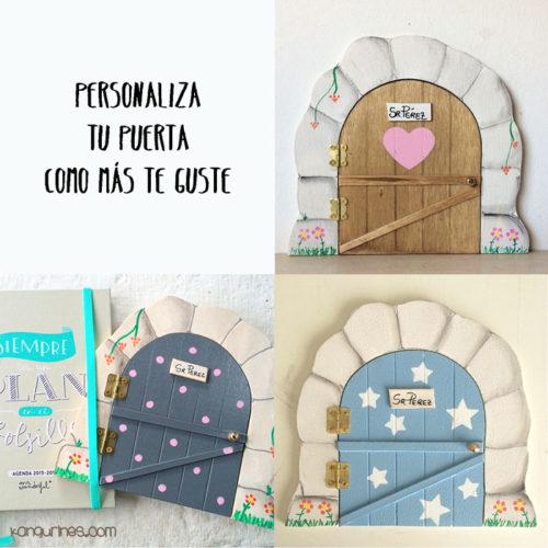 Puertas del Ratoncito Pérez personalizadas