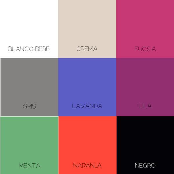 Gama de colores para personalizar tu puerta del Ratoncito Pérez