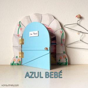 Puerta Ratoncito Pérez. Azul bebé