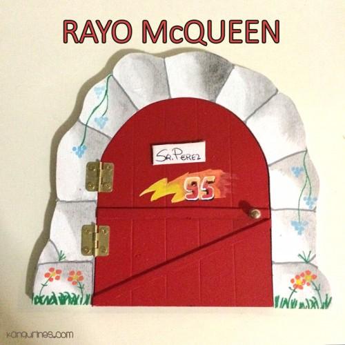 Puerta Ratoncito Pérez. Rayo McQueen