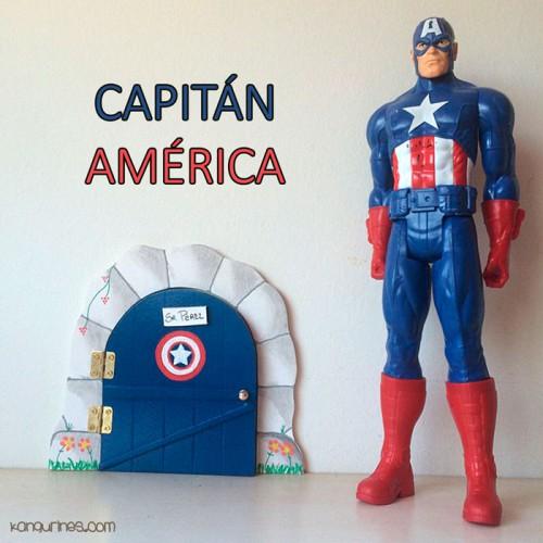 Puerta Ratoncito Pérez. Capitán América