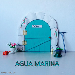 Puerta Ratoncito Pérez. Agua marina