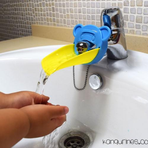 Adaptador de grifo para niños