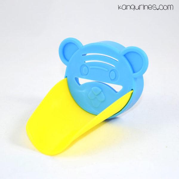 Adaptador de grifo para niños. Azul