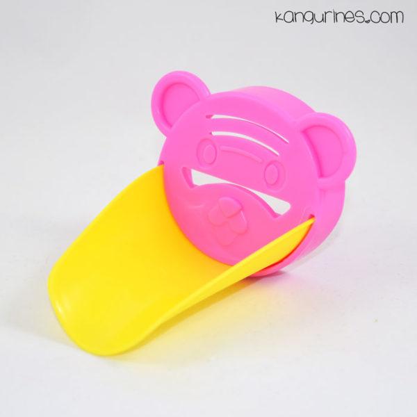 Adaptador de grifo para niños. Rosa