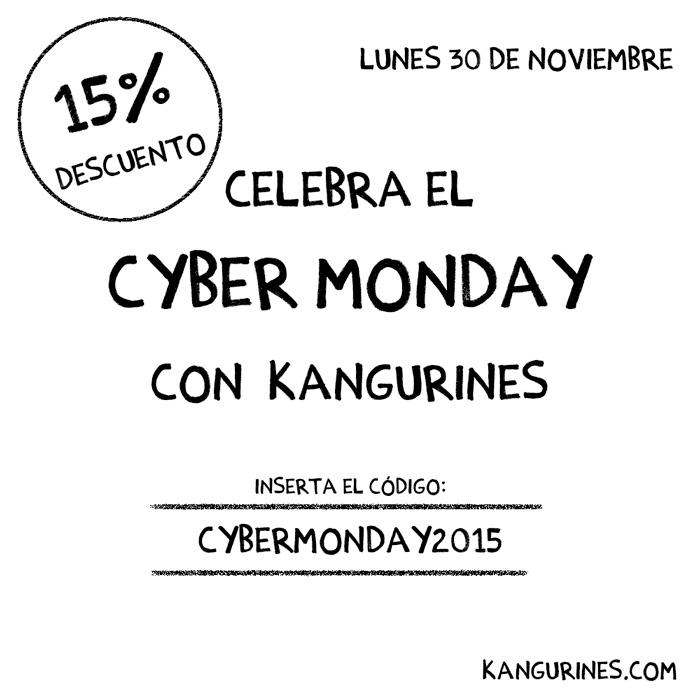 ¡¡Celebra el CYBER MONDAY con Kangurines!!