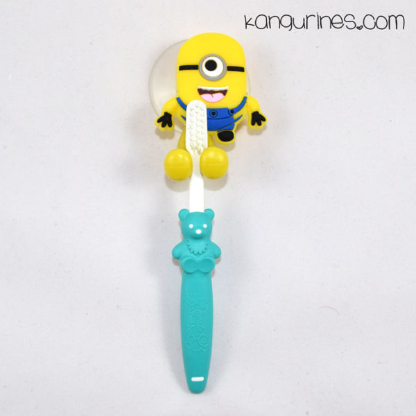Soporte para cepillo de dientes. Minions