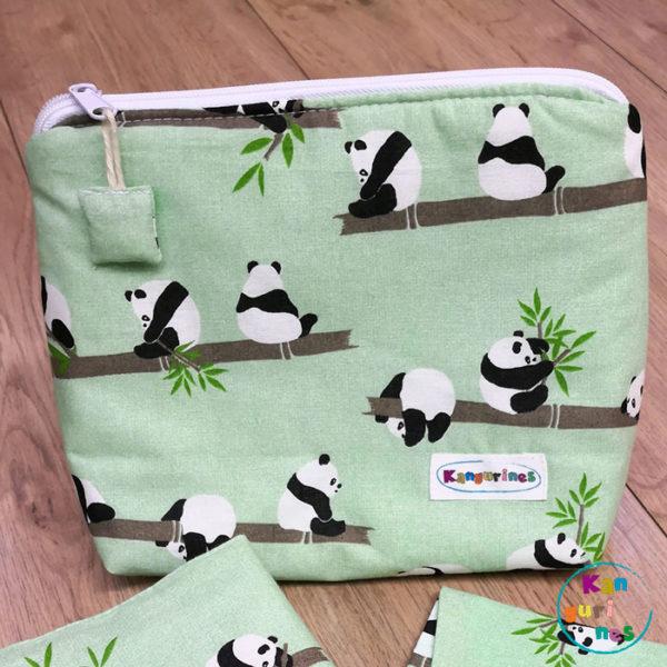 Neceser Pandas bambú