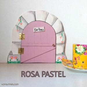 Puerta Ratoncito Pérez. Rosa pastel