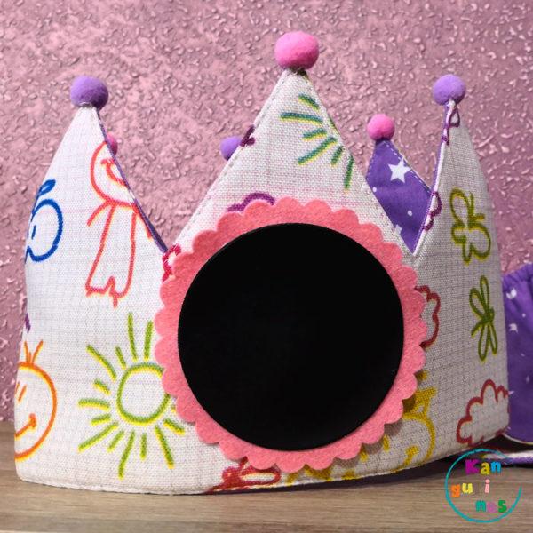 Corona de cumpleaños. Dibujos infantiles
