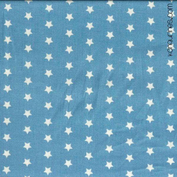 Estrellitas blancas fondo azul