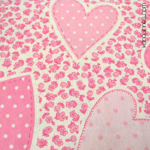 Matilde rosa corazones