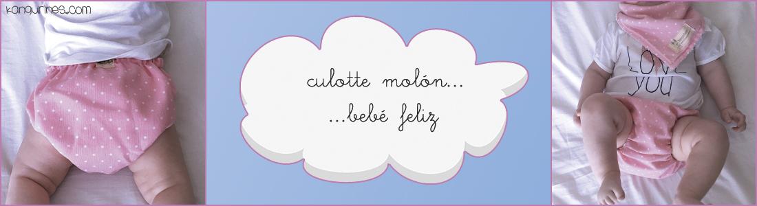Culottes / cubrepañales reversibles molones