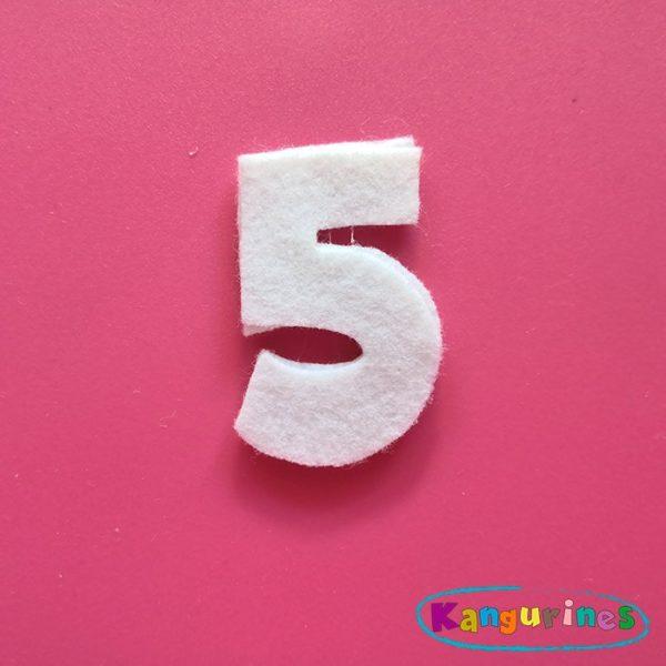 Número 5 para tu corona