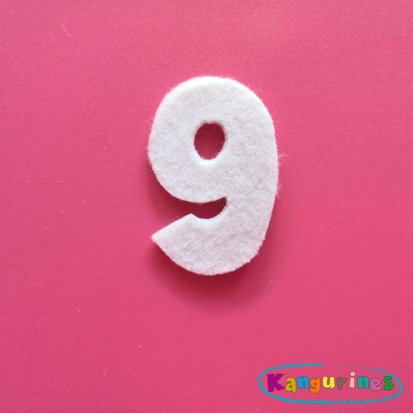 Número 9 para tu corona