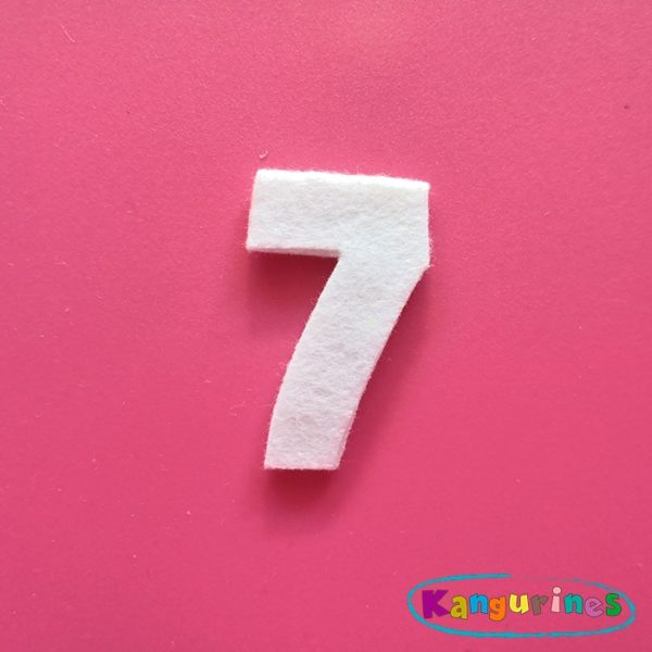 Número 7 para tu corona