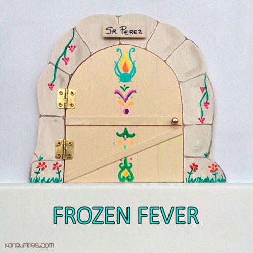 Puerta Ratoncito Pérez. Frozen Fever