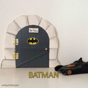 Puerta Ratoncito Pérez. Batman