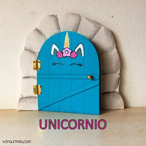 Puerta Ratoncito Pérez. Unicornio