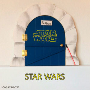 Puerta Ratoncito Pérez. Star Wars