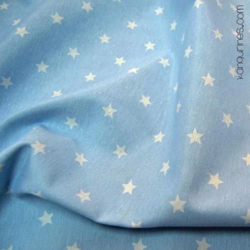 Loneta estrella grande azul