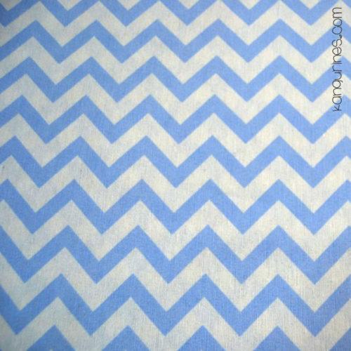 Matilde azul zig-zag