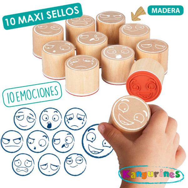 Maxi-sellos de las emociones