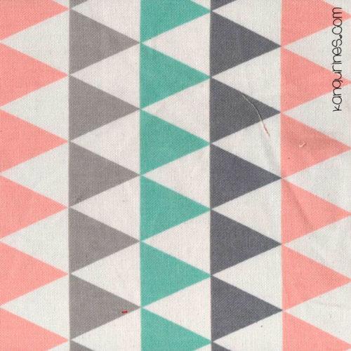 Loneta triángulos