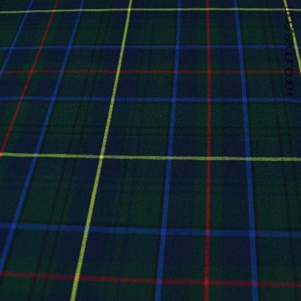 Cuadro escocés azul verde - 04