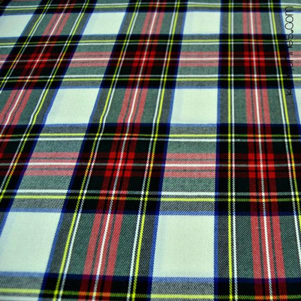 Cuadro escocés rojo negro - 06