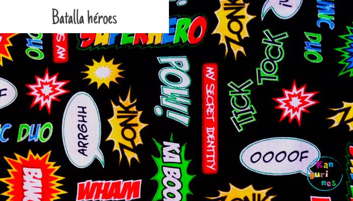 Tela Batalla héroes