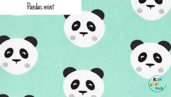 Tela Pandas mint