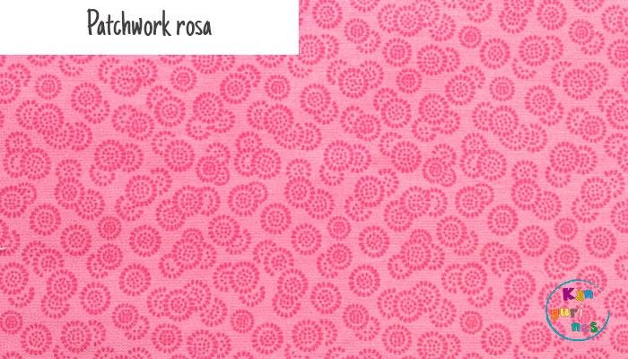 Tela Patchwork rosa