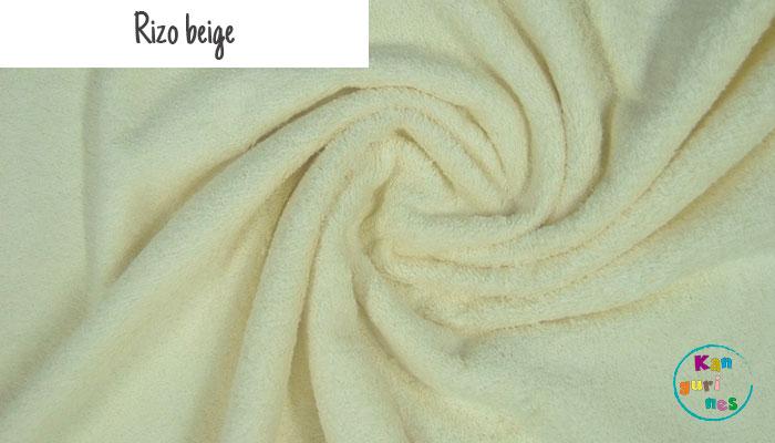 Tela Rizo beige