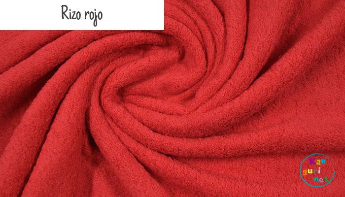 Tela Rizo rojo