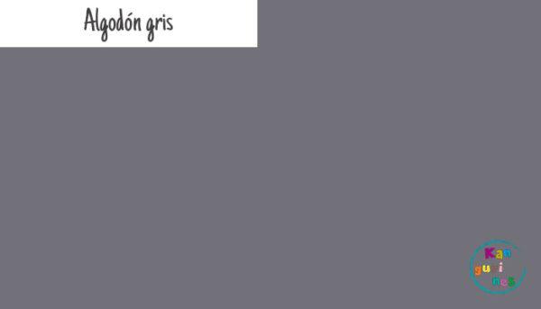 Tela Algodón gris