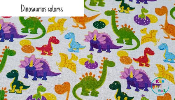 Dinosaurios colores