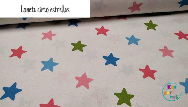 Loneta circo estrellas